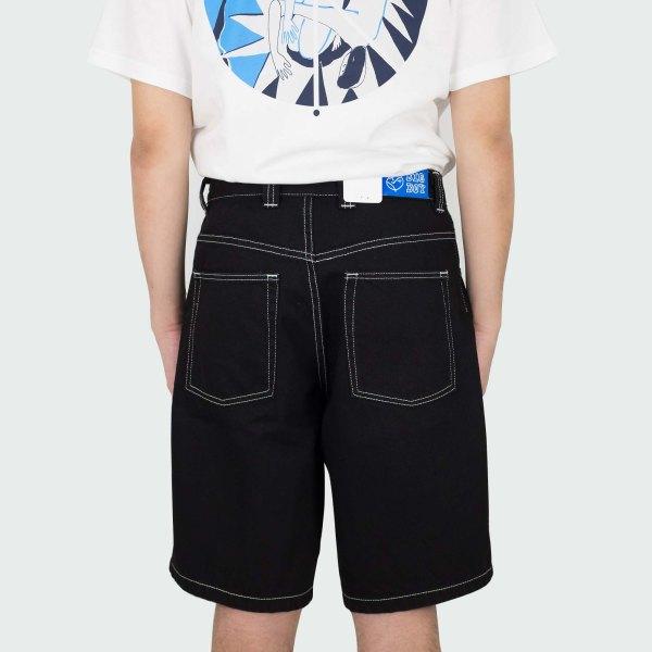 Polar Skate Co. Big Boy Shorts - Pitch Black