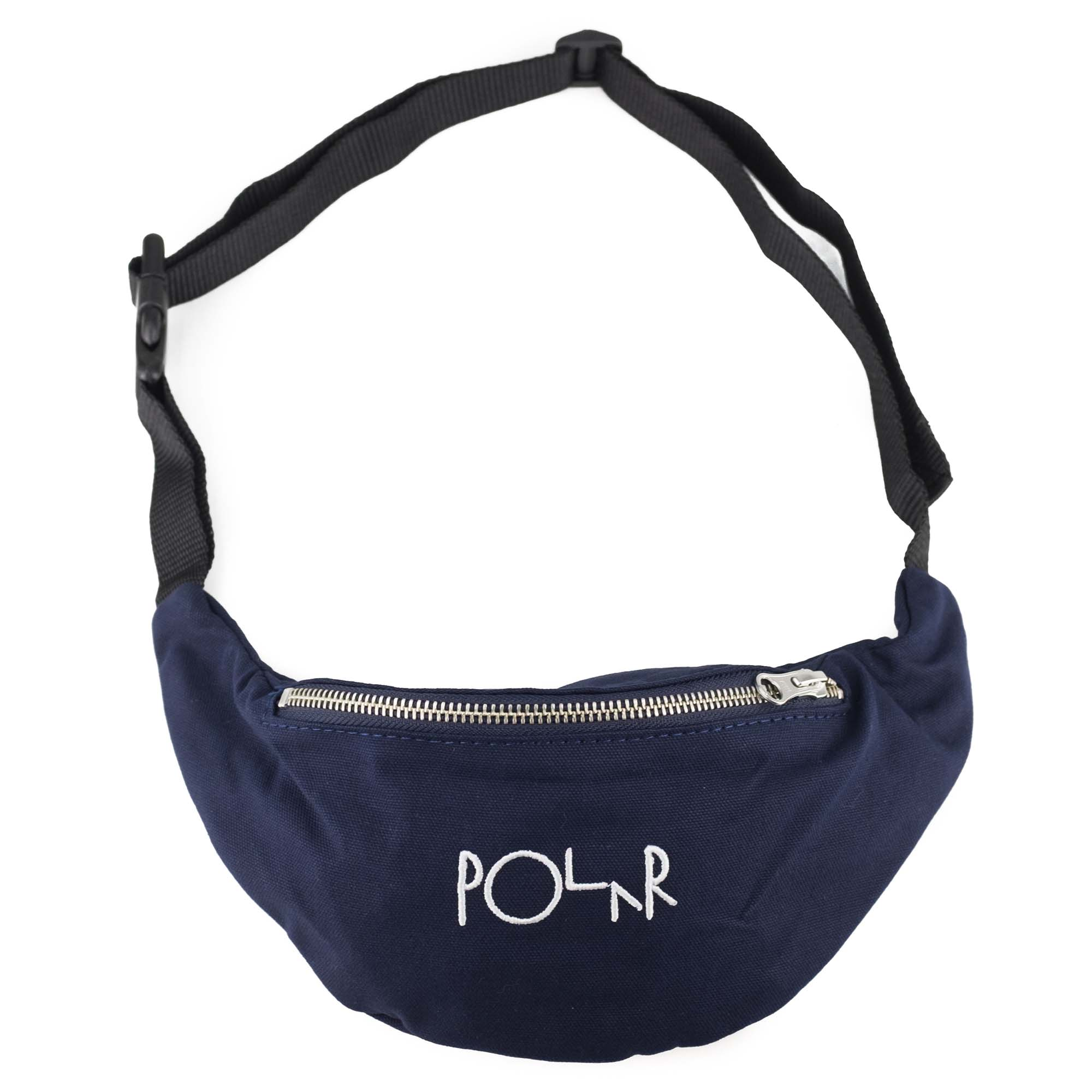 Polar Skate Co. Script Logo Hip Bag - Navy