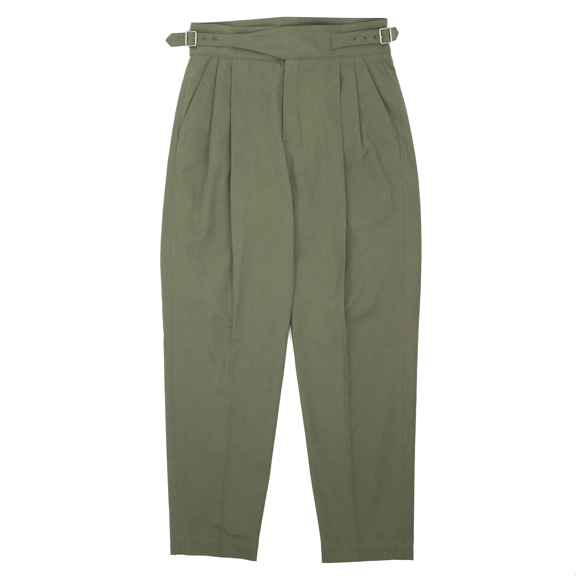 Sulfur Dyed NIDOM Gurkha Pants Khaki 1