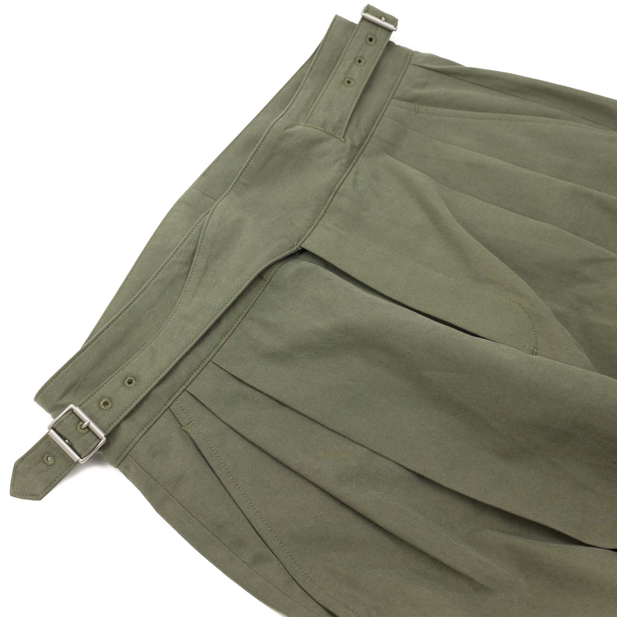 Sulfur Dyed NIDOM Gurkha Pants Khaki 5
