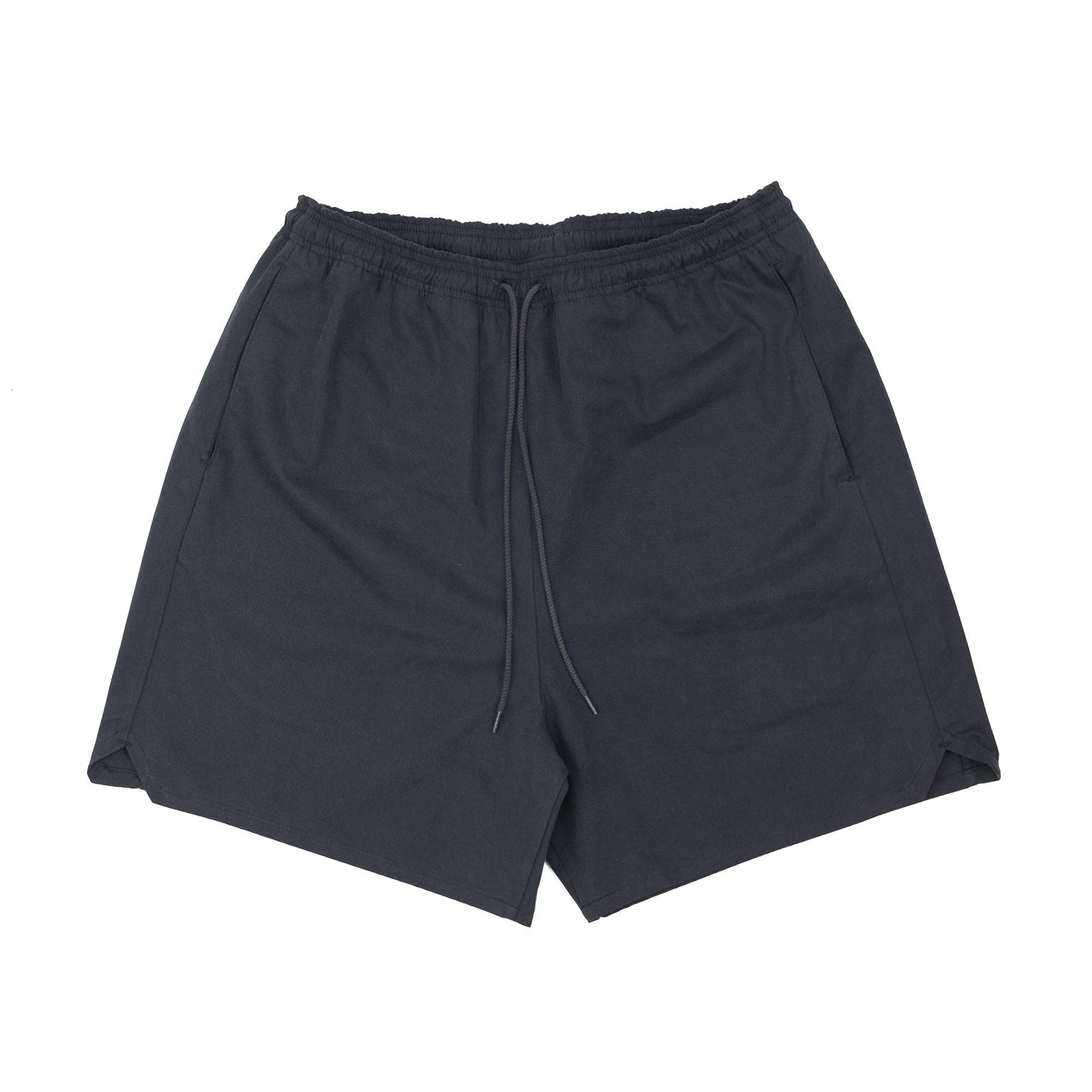 Sulfur Dyed Nidom Training Shorts Black 1