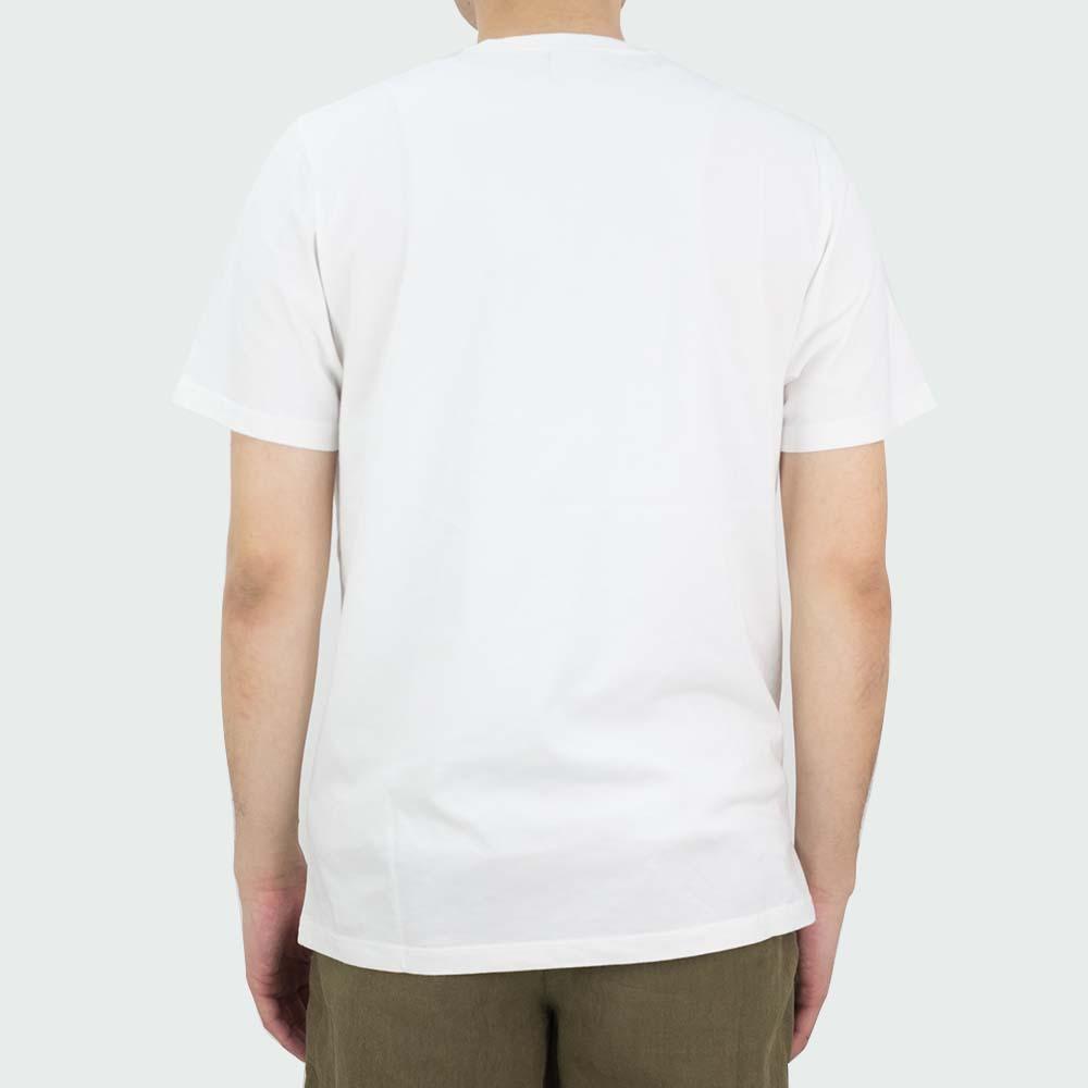 NN07 Mauro Print 3421 Tee - White