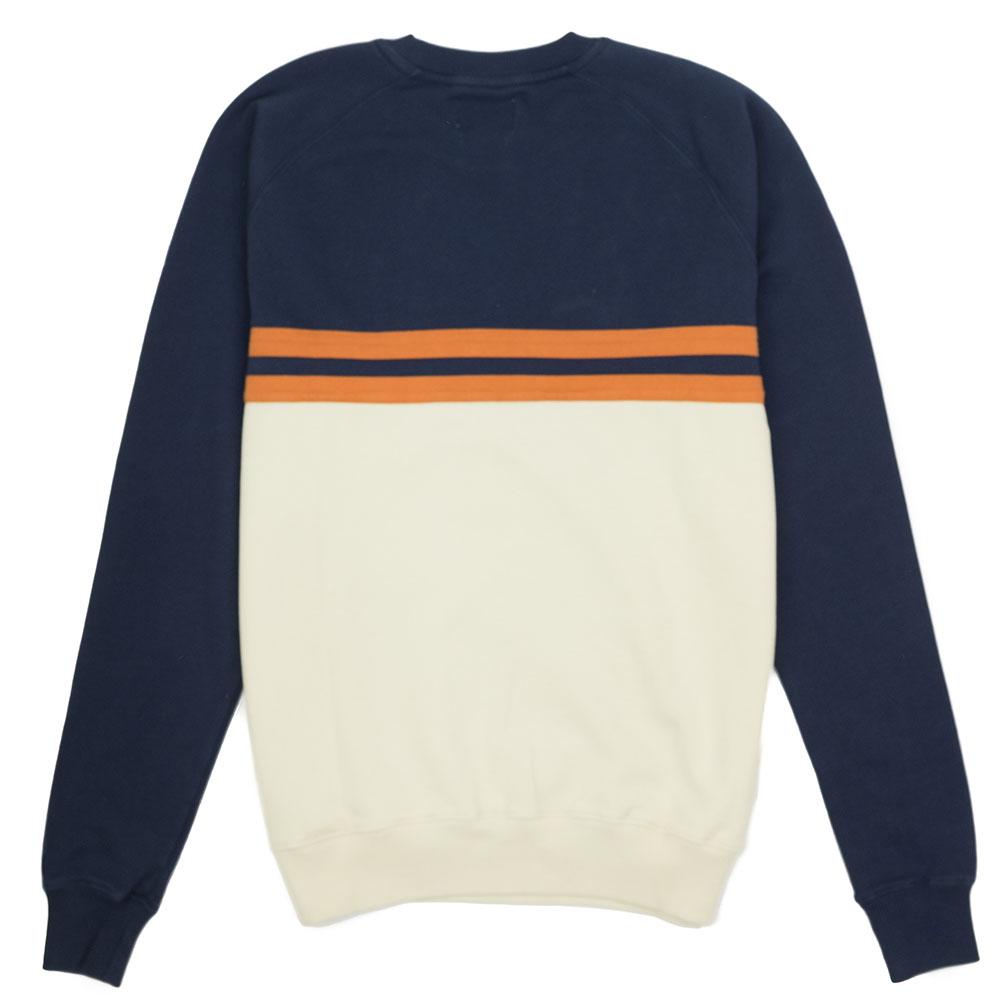 forét Escape Sweatshirt - Midnight Blue - Cream
