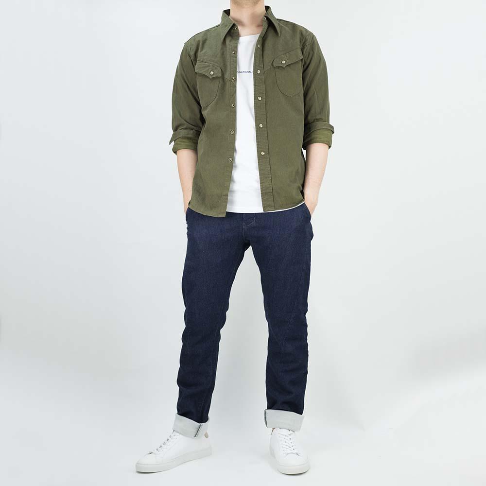 Stevenson Overall Co. Messenger Trousers - Indigo 10