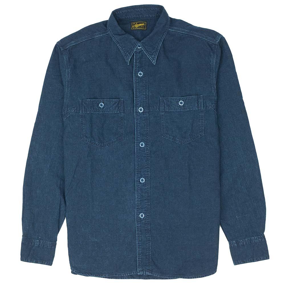 Stevenson Overall Co. Smith Shirt - Indigo 1