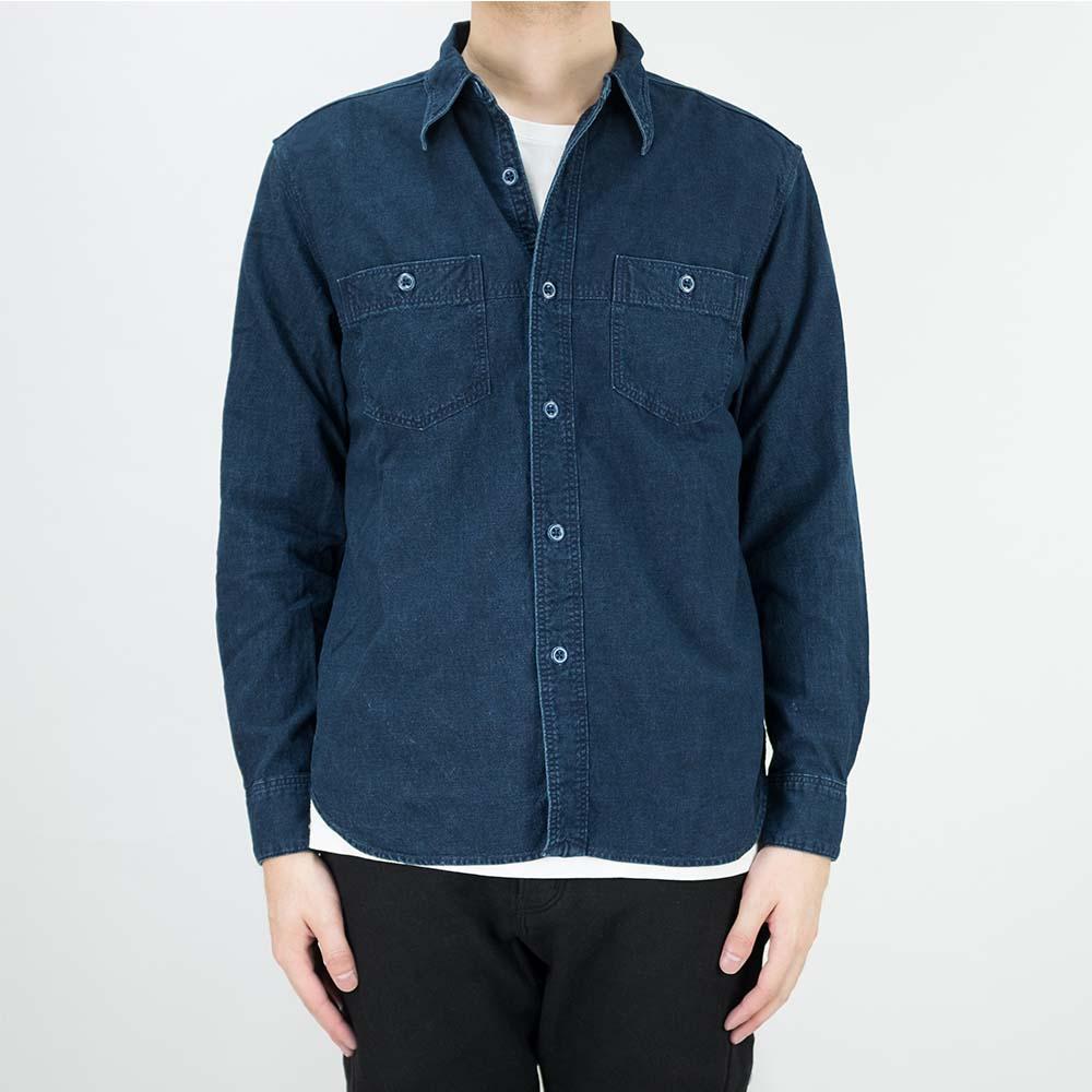 Stevenson Overall Co. Smith Shirt - Indigo 2