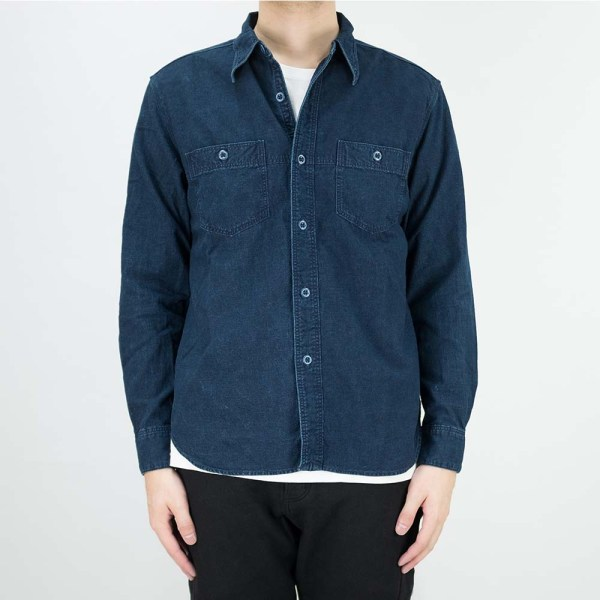 Stevenson Overall Co. Smith Shirt - Indigo 2