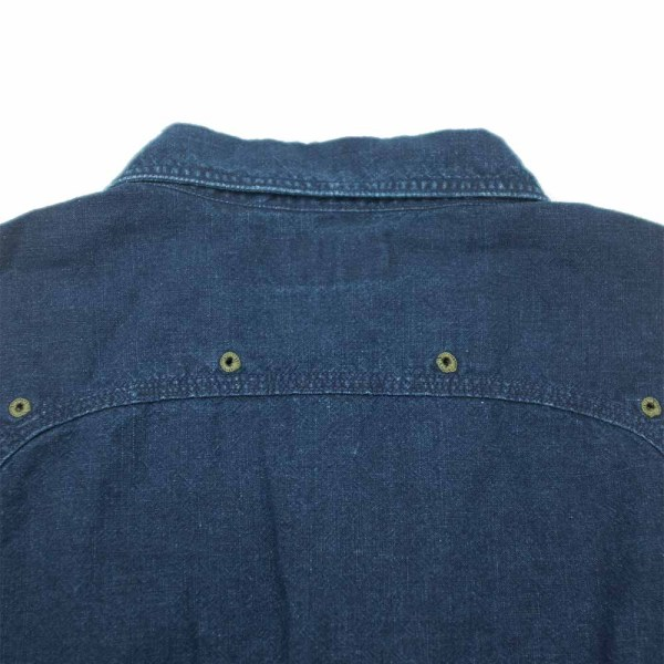 Stevenson Overall Co. Smith Shirt - Indigo 8