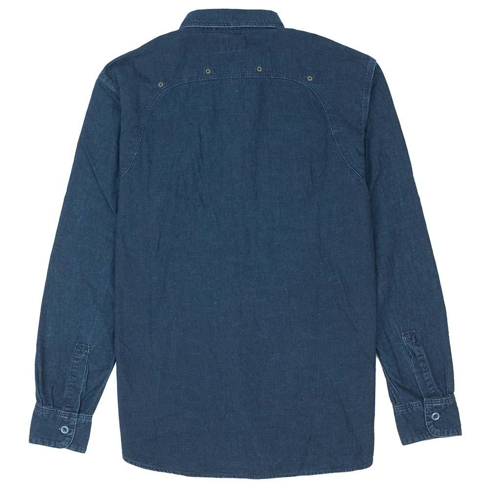 Stevenson Overall Co. Smith Shirt - Indigo 9