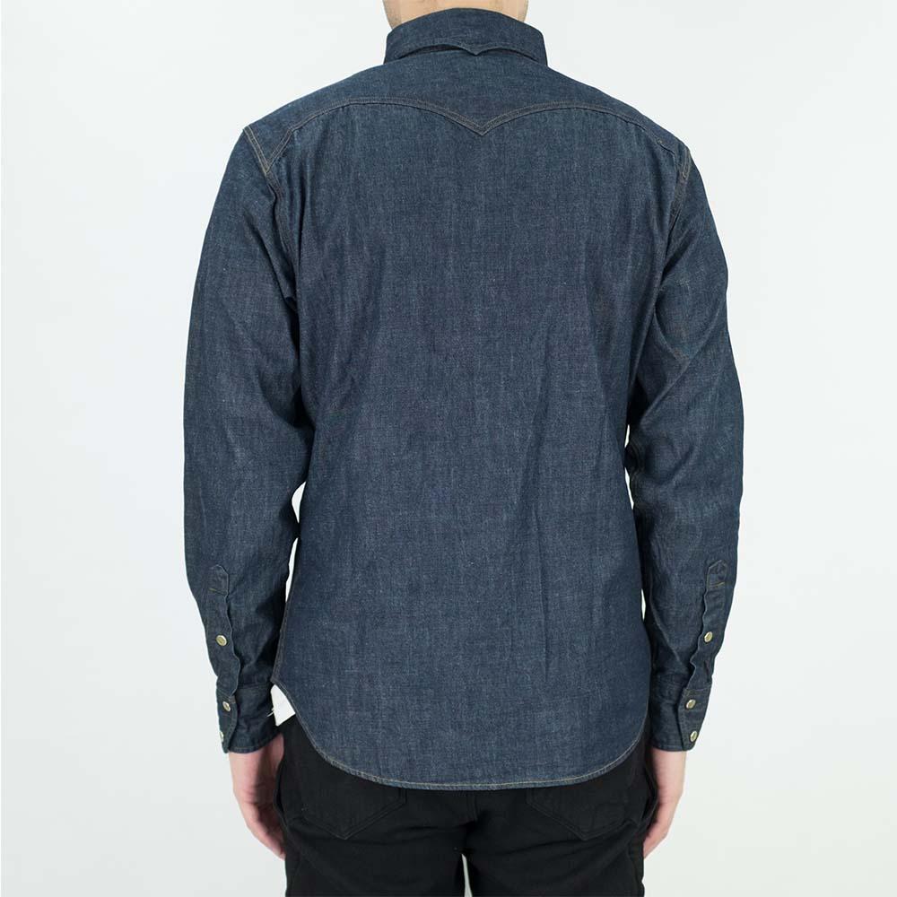 Stevenson Overall Co. Trigger Shirt - Indigo 3