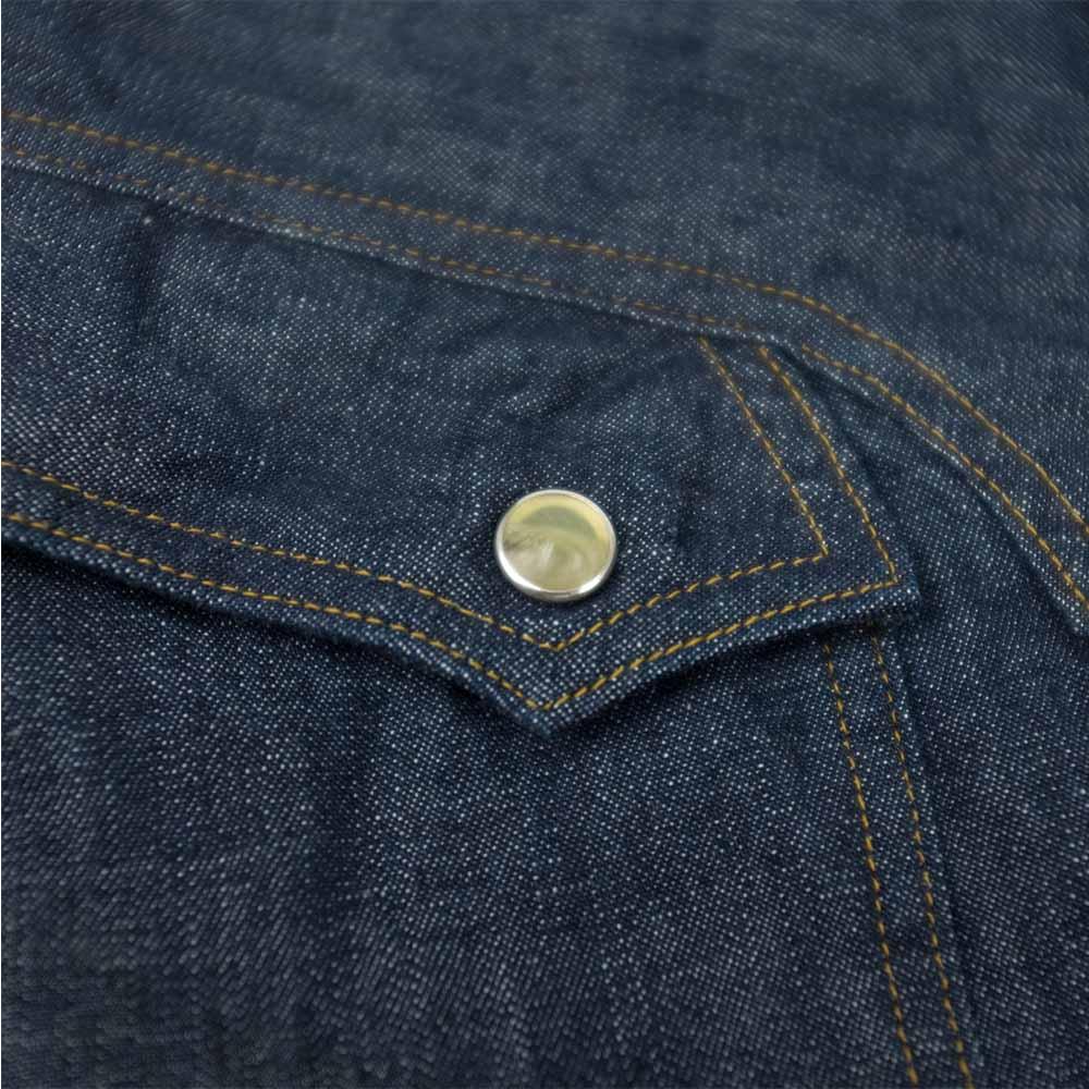 Stevenson Overall Co. Trigger Shirt - Indigo 4