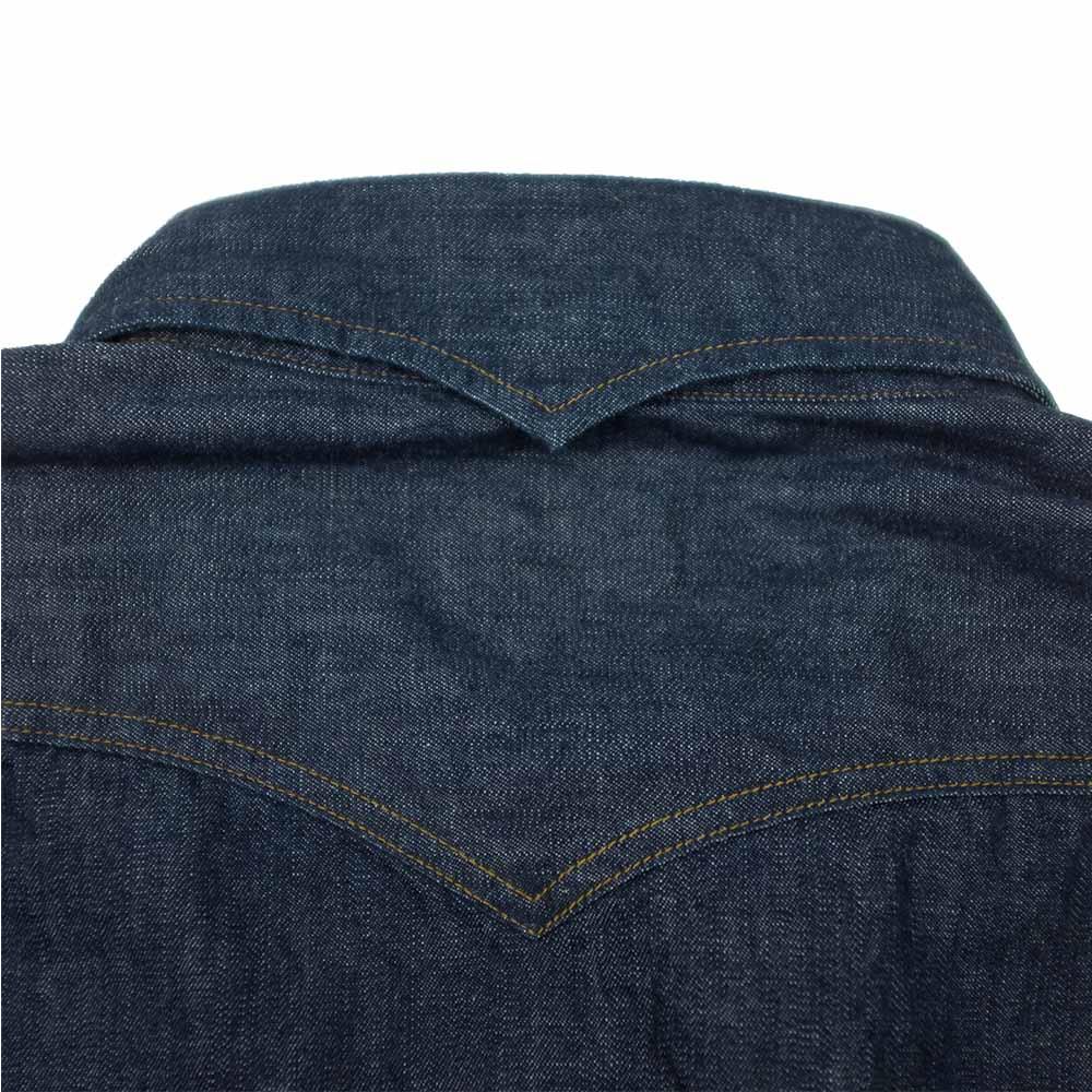 Stevenson Overall Co. Trigger Shirt - Indigo 7