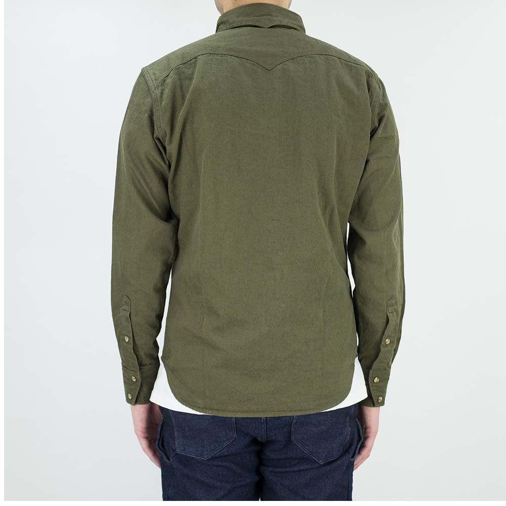 Stevenson Overall Co. Trigger Shirt - Olive 3