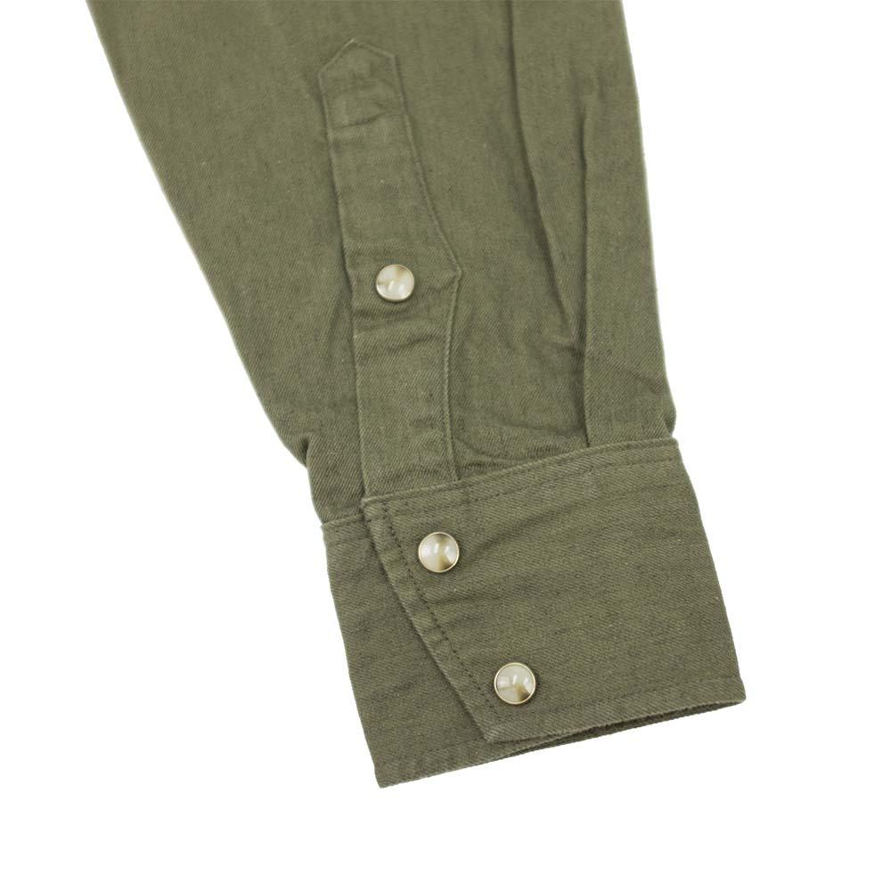 Stevenson Overall Co. Trigger Shirt - Olive 6