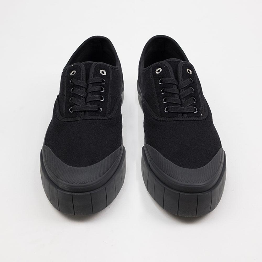 Good News Softball 2 Low Sneaker- Black 4