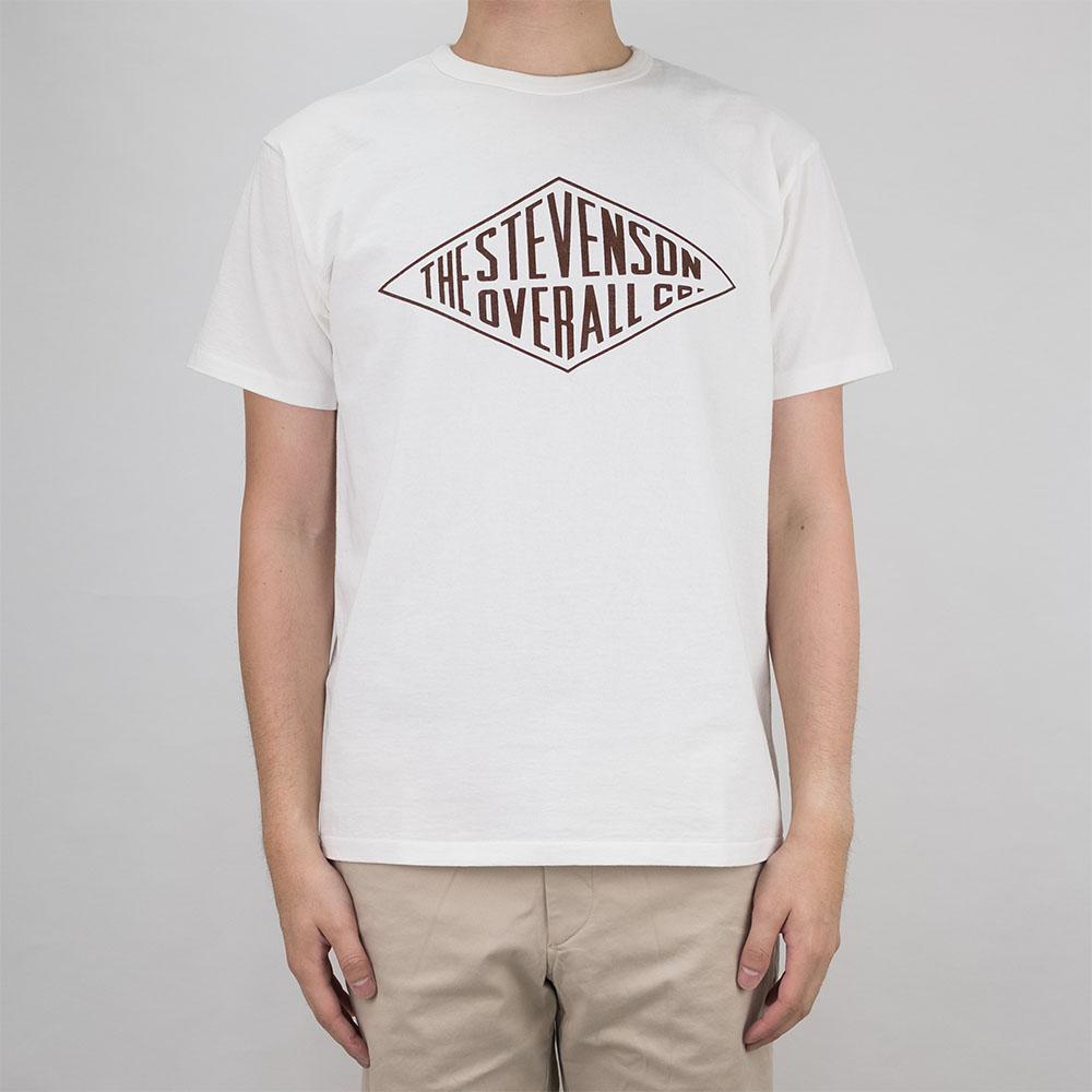 Stevenson Overall Co. Graphic T-Shirt Diamond - White