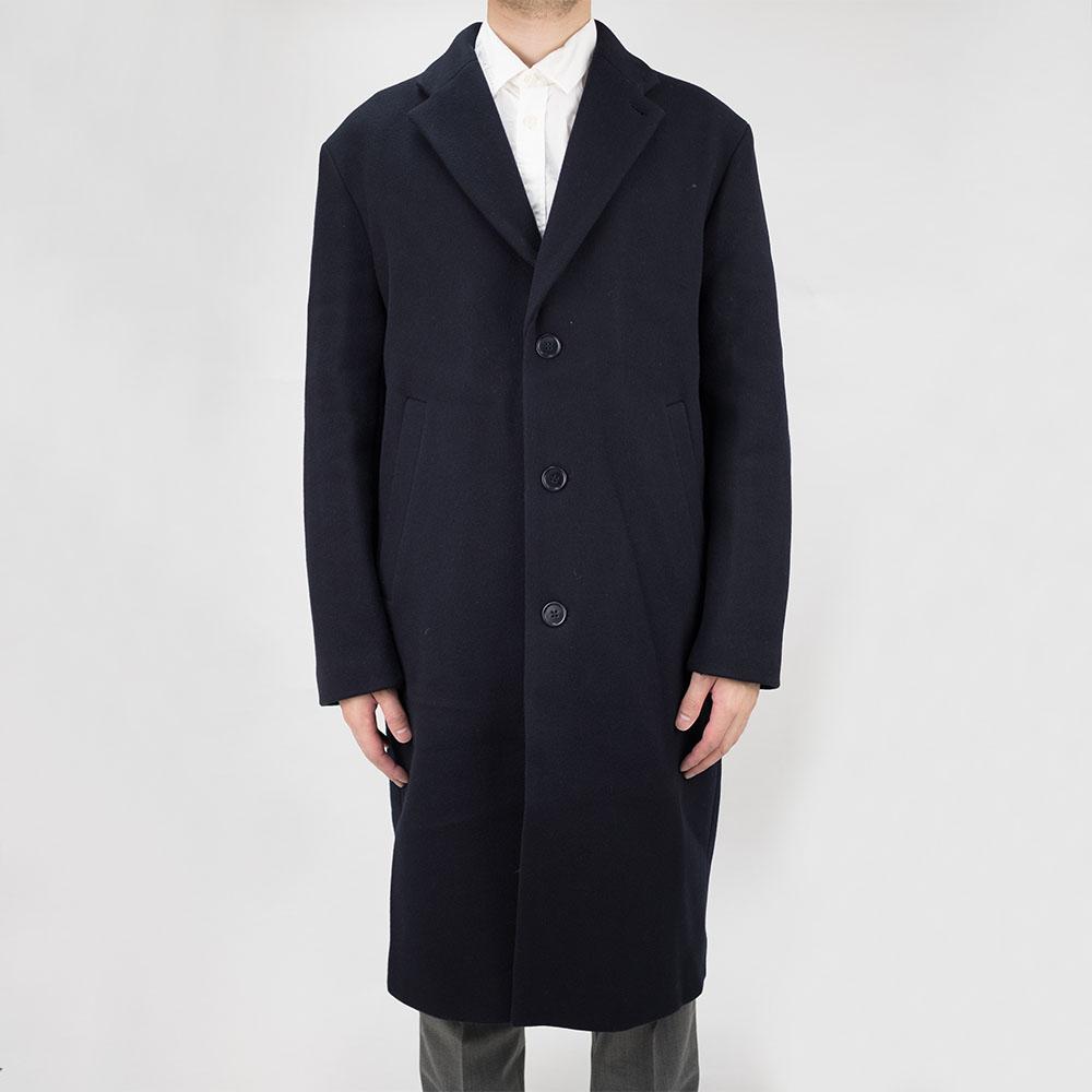 Filippa K Lyon Wool Coat - Dark Navy