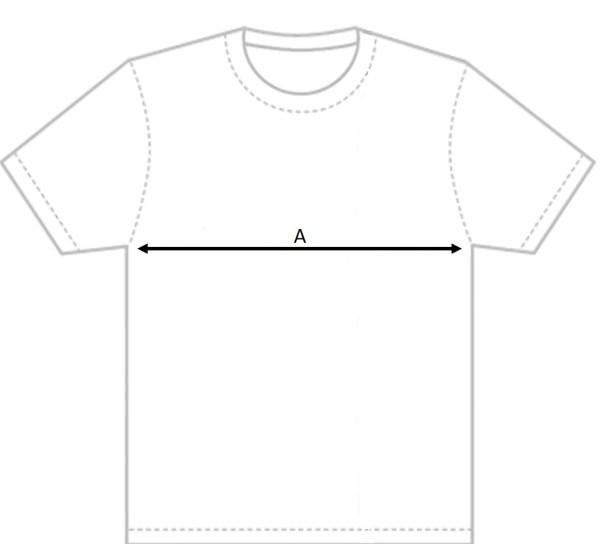 Filippa K T Shirt Size Measurement