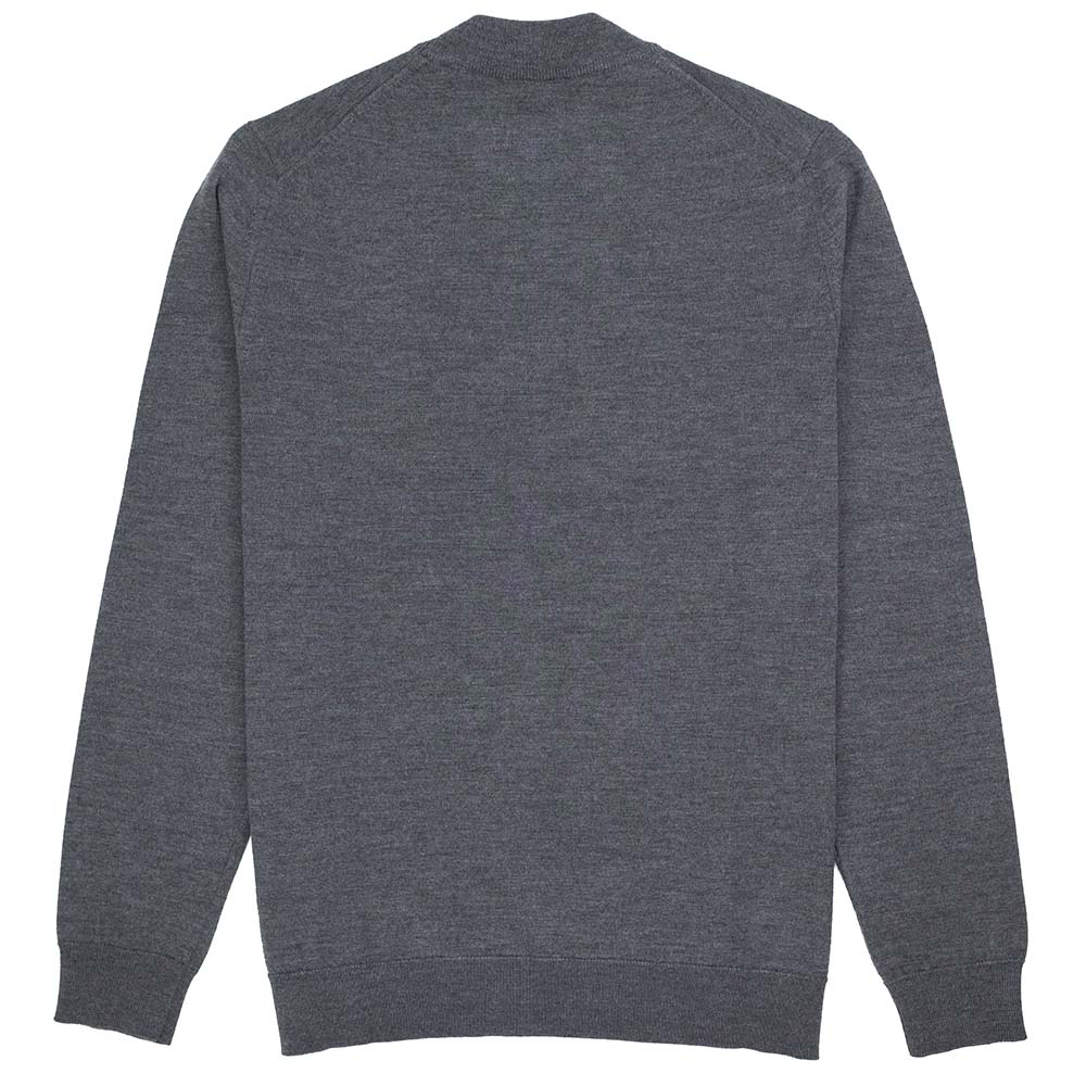 NN07 Martin Merino Sweater - Antracite Grey Mel