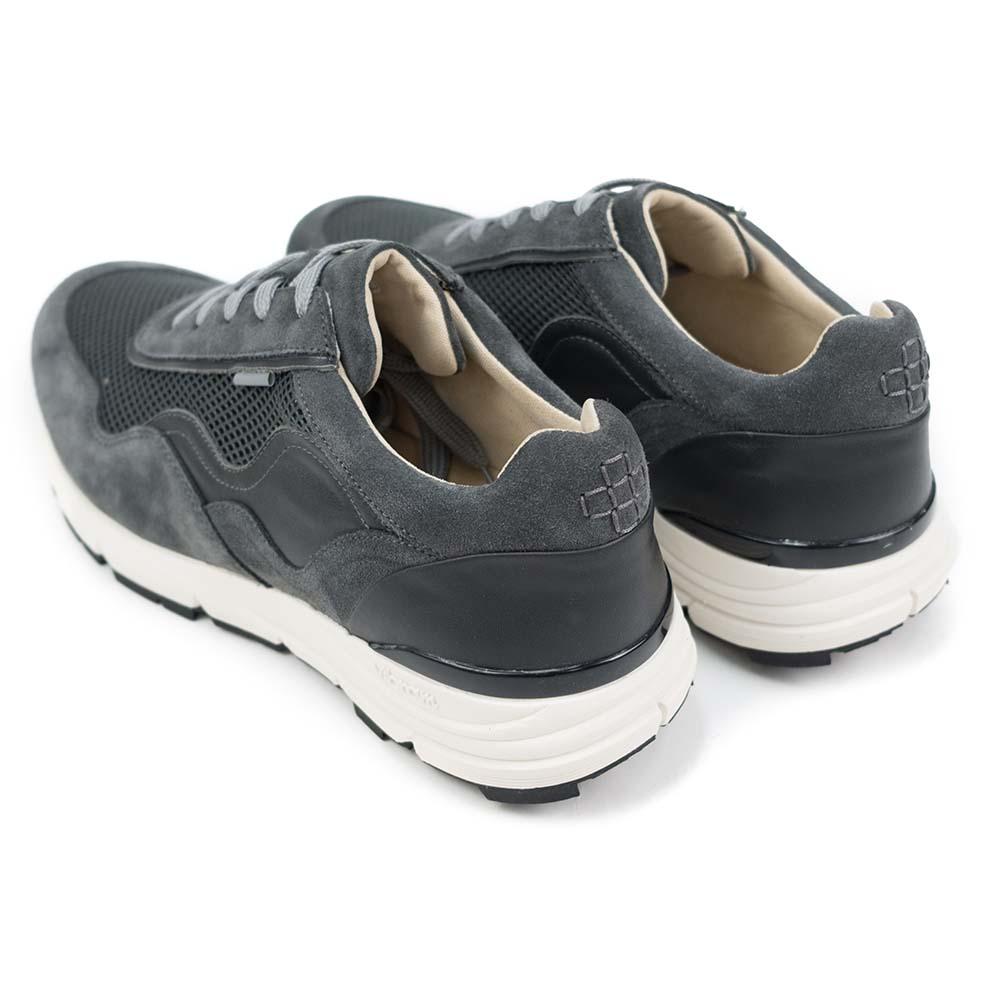 PREGIS Levy Leather Sneaker - Grey