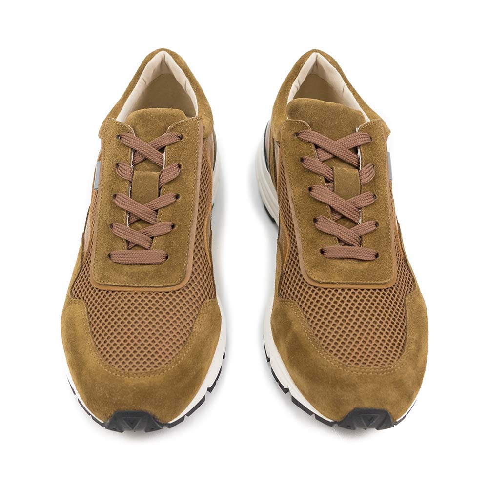 PREGIS Levy Leather Sneaker - Tan