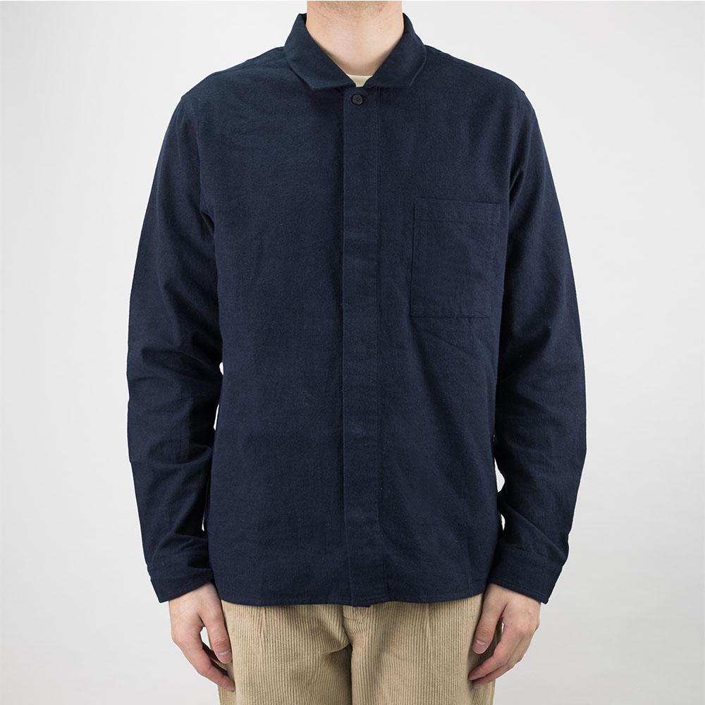 Folk Patch Shirt - Navy
