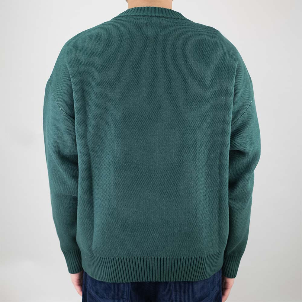 Polar Skate Co. Polar Knit Sweater - Dark Green