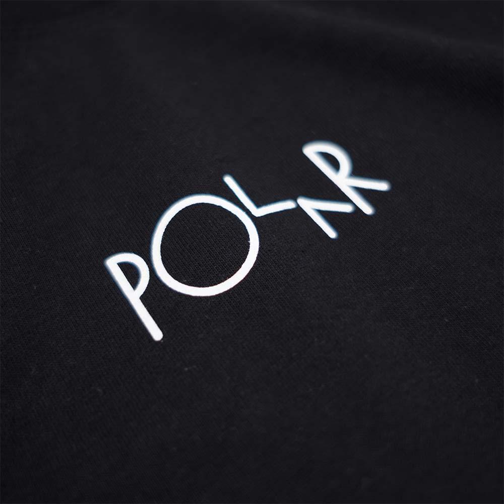 Polar Skate Co. Racing Longsleeve Tee - Black