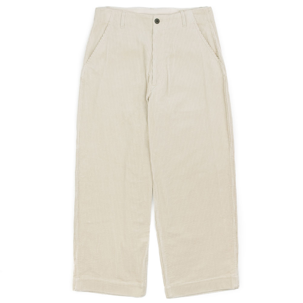 Kuro Wide Trouser - Ivory