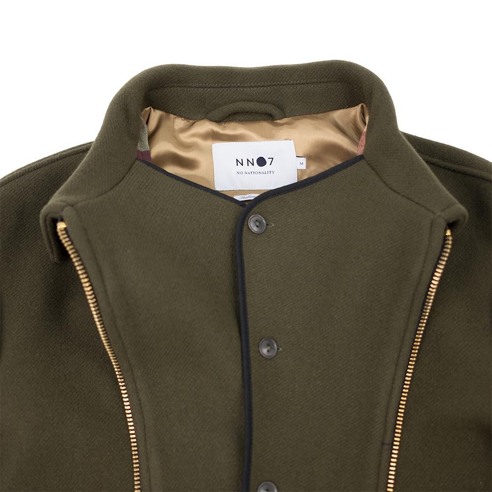 NN07 Jeremy Wool Jacket - Amry