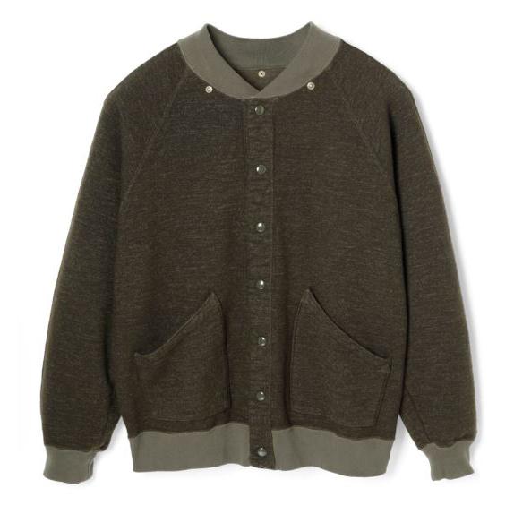 Stevenson Overall Detachable Hooded Athletic Jacket Olive