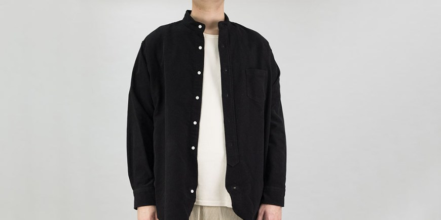 Kuro-Band-Collar-Big-Shirt-blog