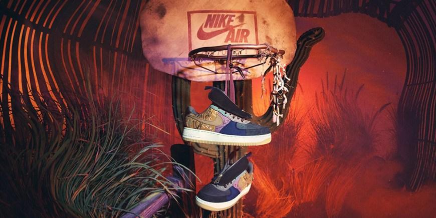 Nike x Travis Scott Air Force blog