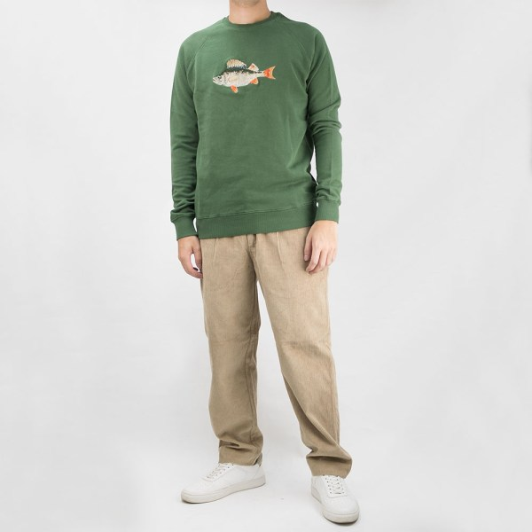 forét Bait Sweatshirt - Dark Green