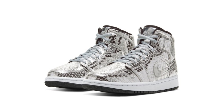 Air Jordan 1 Mid Disco Ball