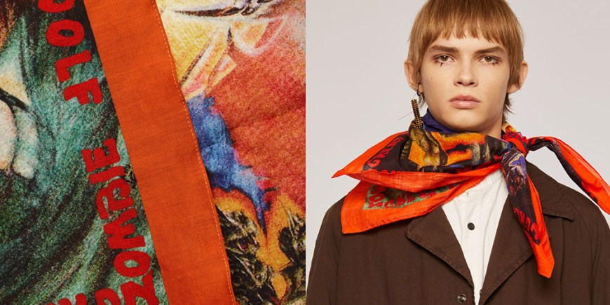 Acne studio Bandana scarves blog