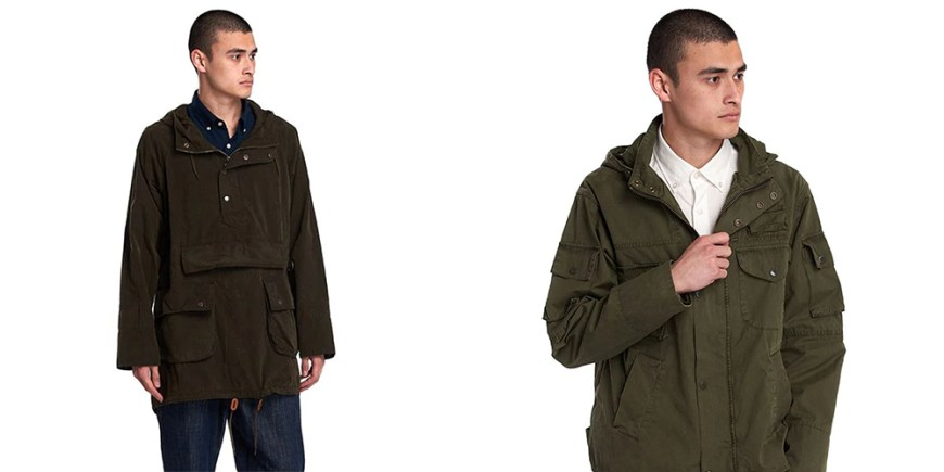 Engineered Garments x Barbour blog