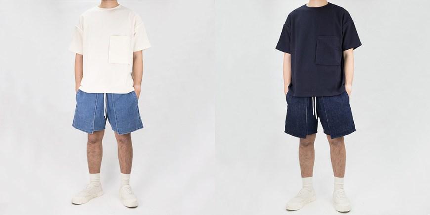 Kuro Loose Denim Baker Shorts blog