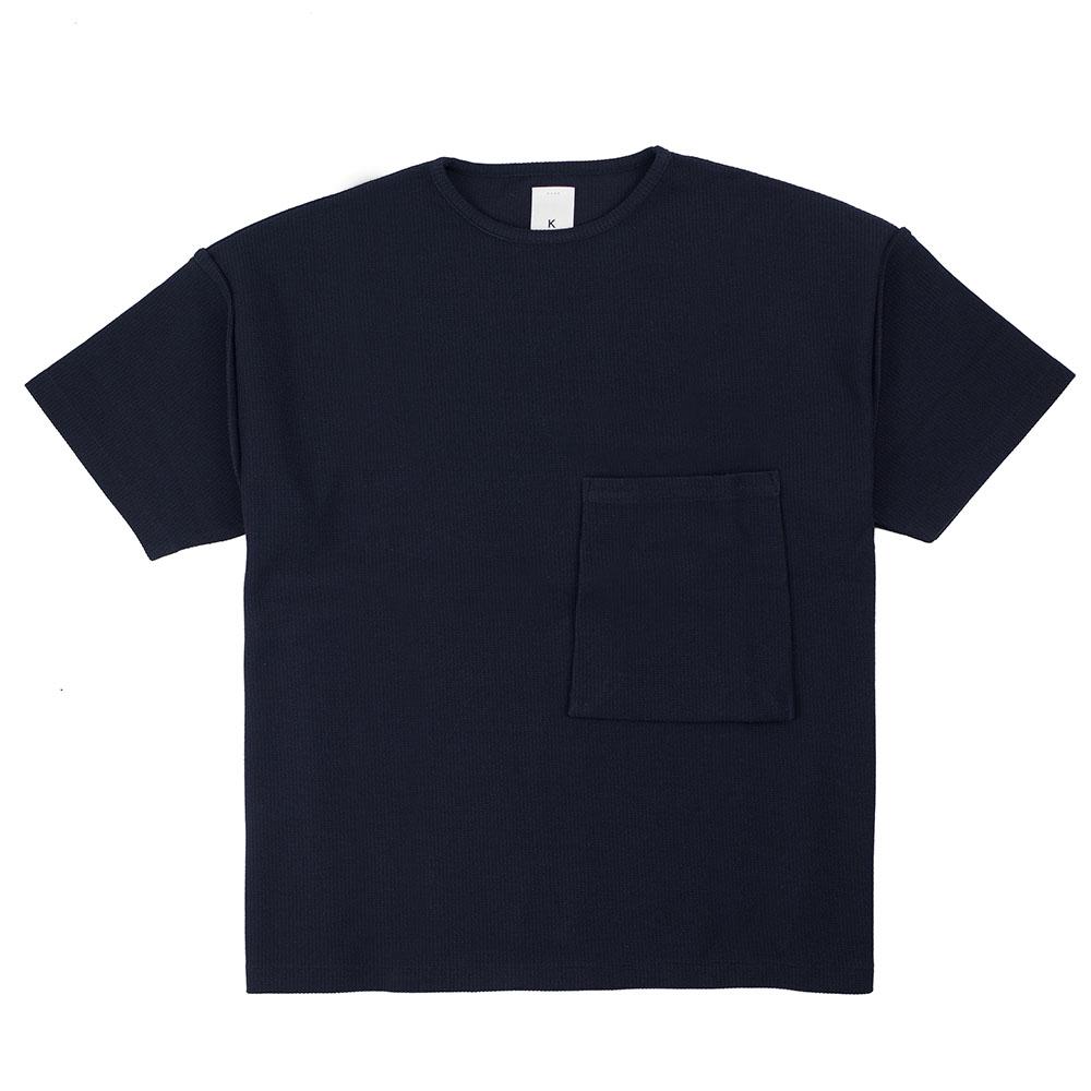 Kuro Sleeve Topped Russellish Jersey Tee - Black