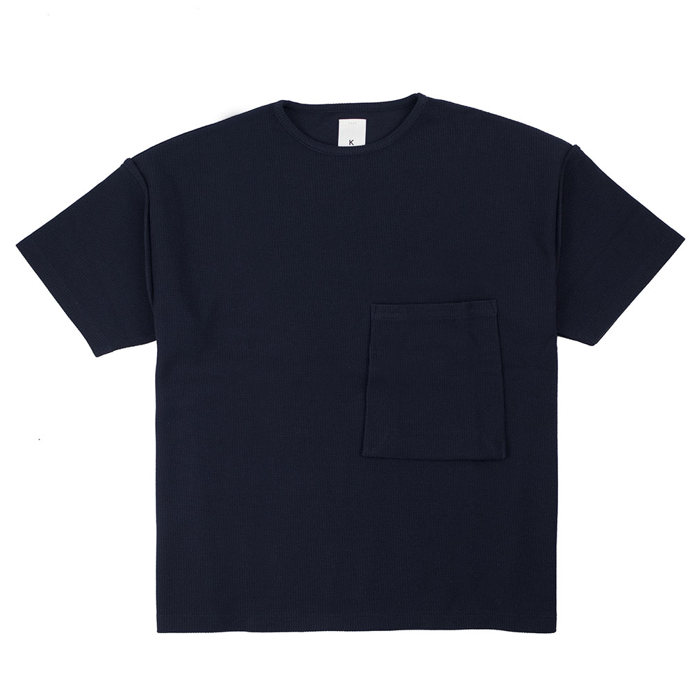 Kuro Sleeve Topped Russellish Jersey Tee - Black