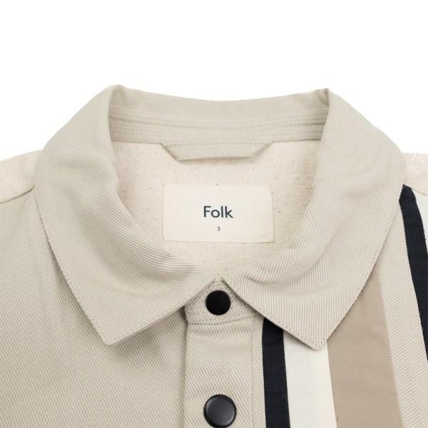 Folk Warp Jacket - Stone Black Patchwork