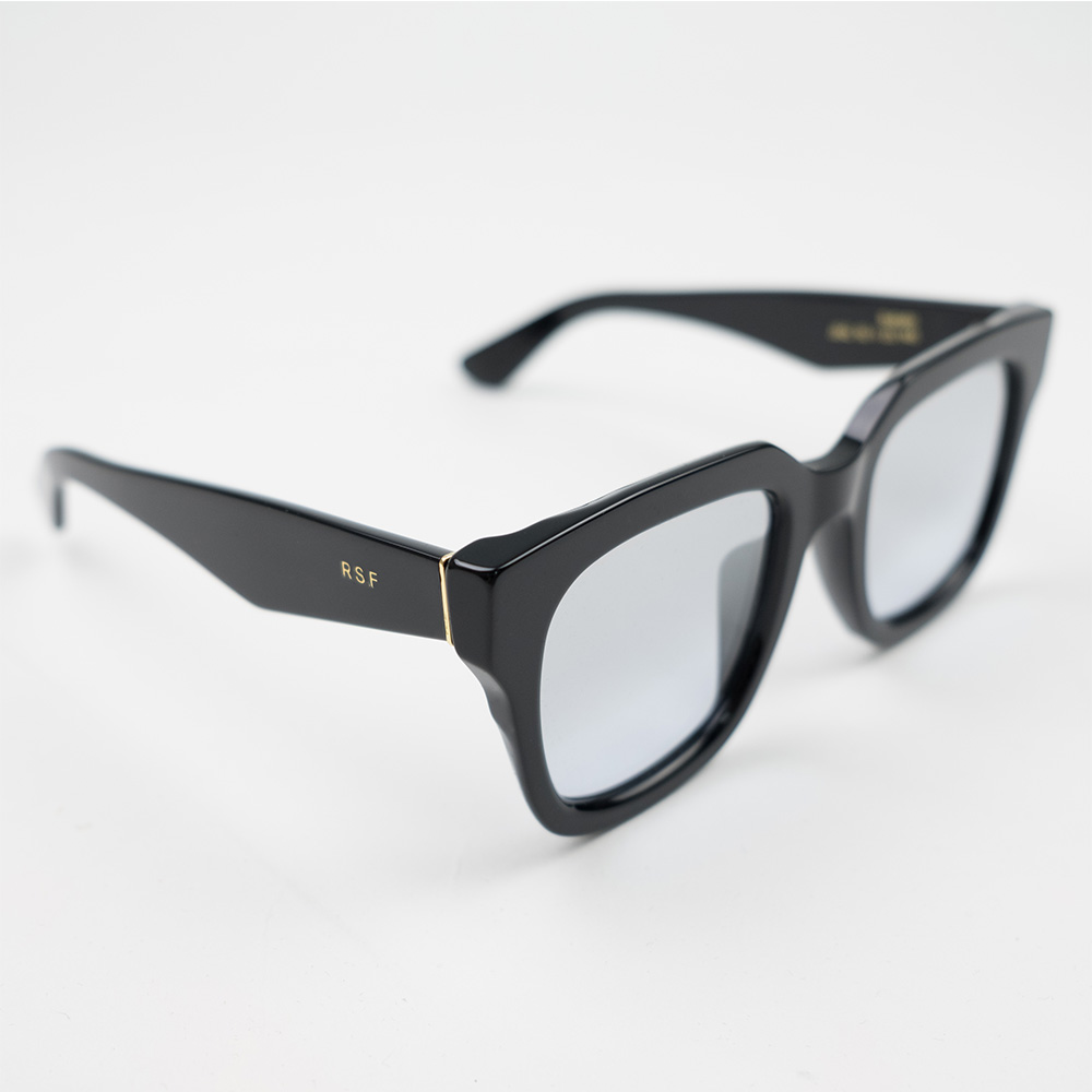 RETROSUPERFUTURE Sabato Sunglasses - Silver Ombre