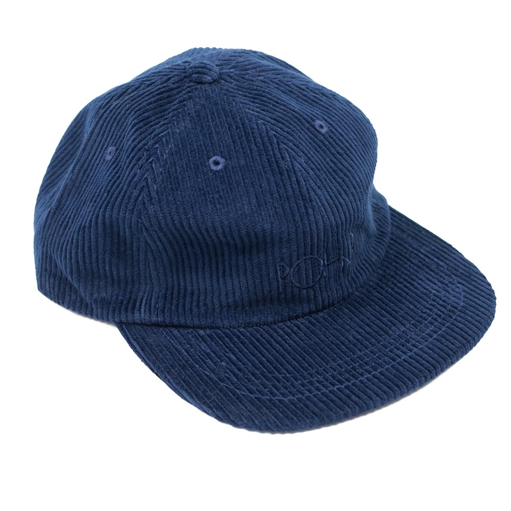 Polar Skate Corduroy Cap - Police Blue