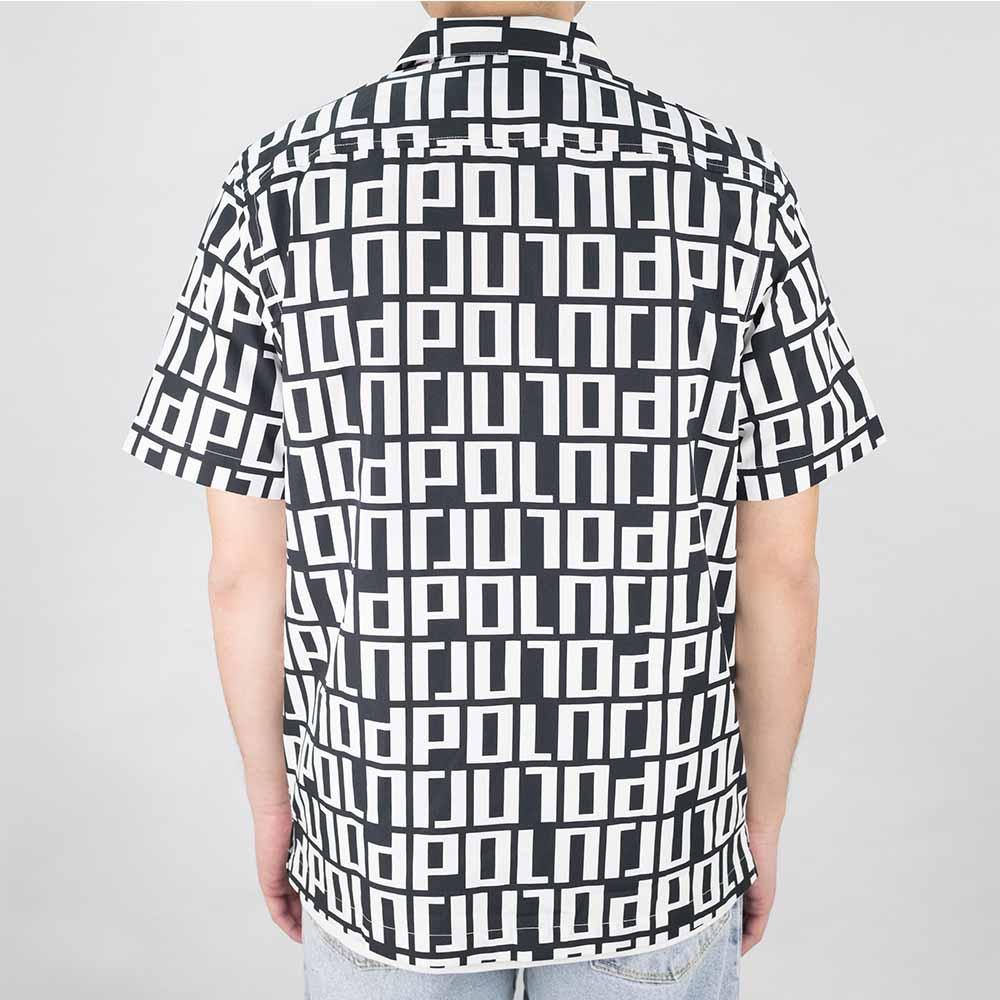 Square Logo Shirt - Black / White