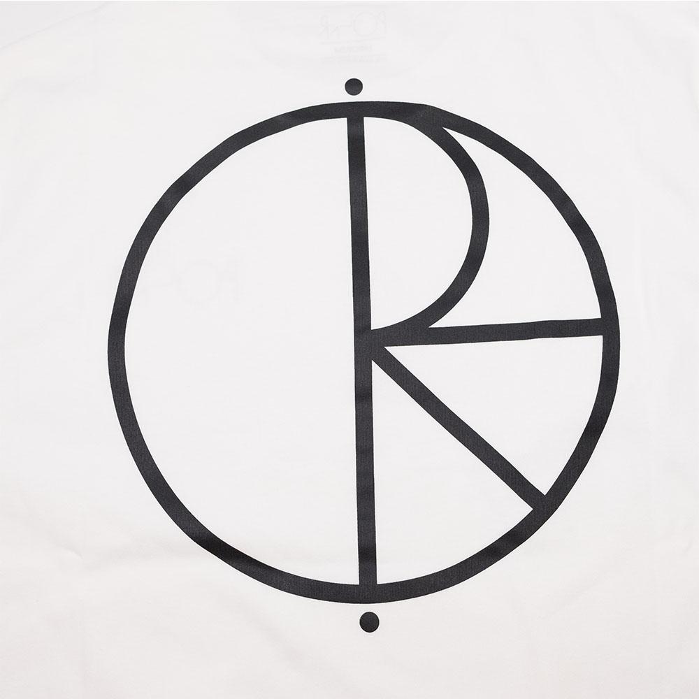 Polar Skate Stroke Logo Tee - White