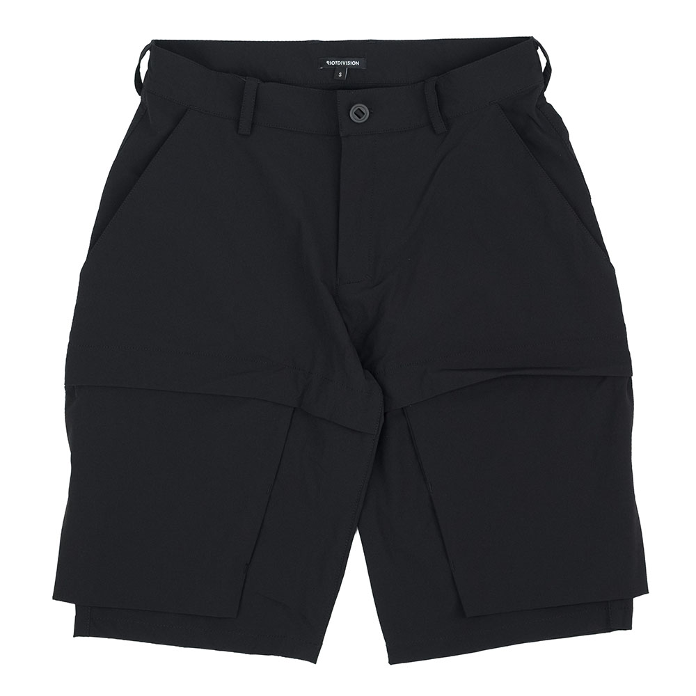 Riot Division Particle Shorts - Black