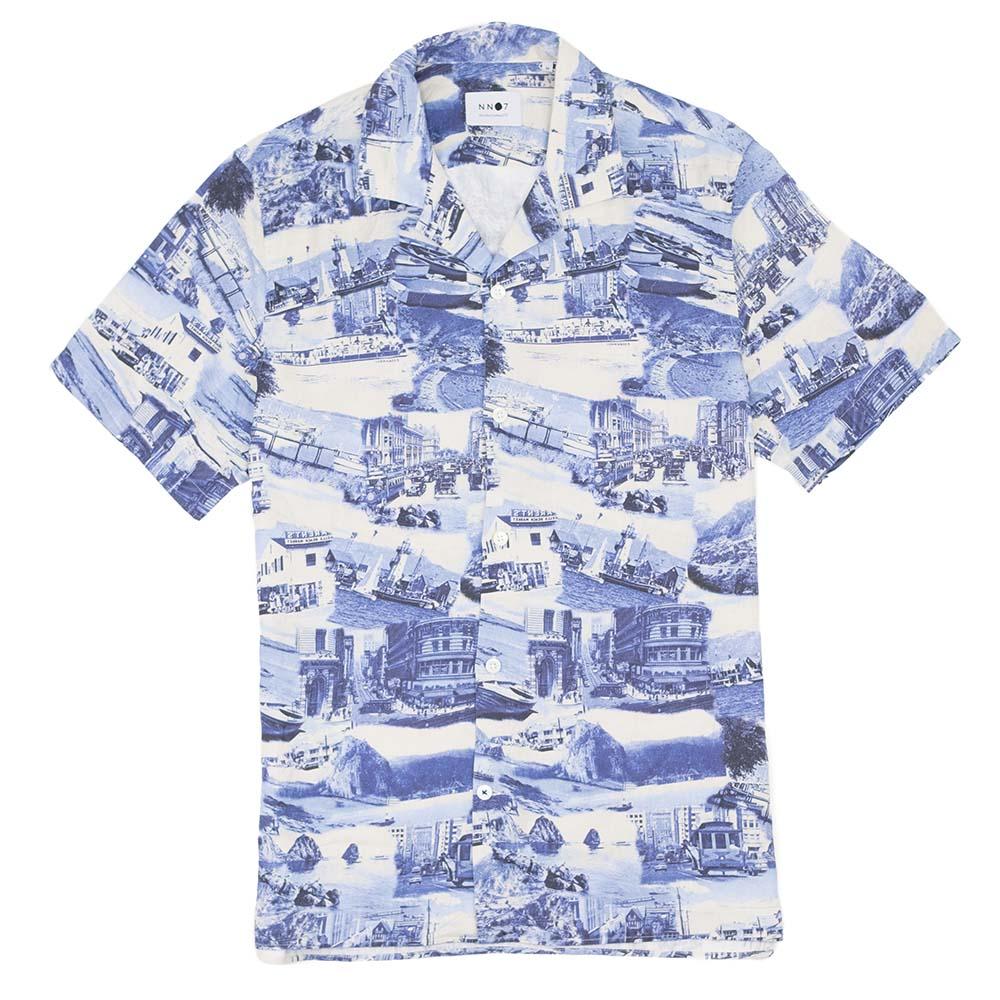 NN07 Miyagi Print Shirt