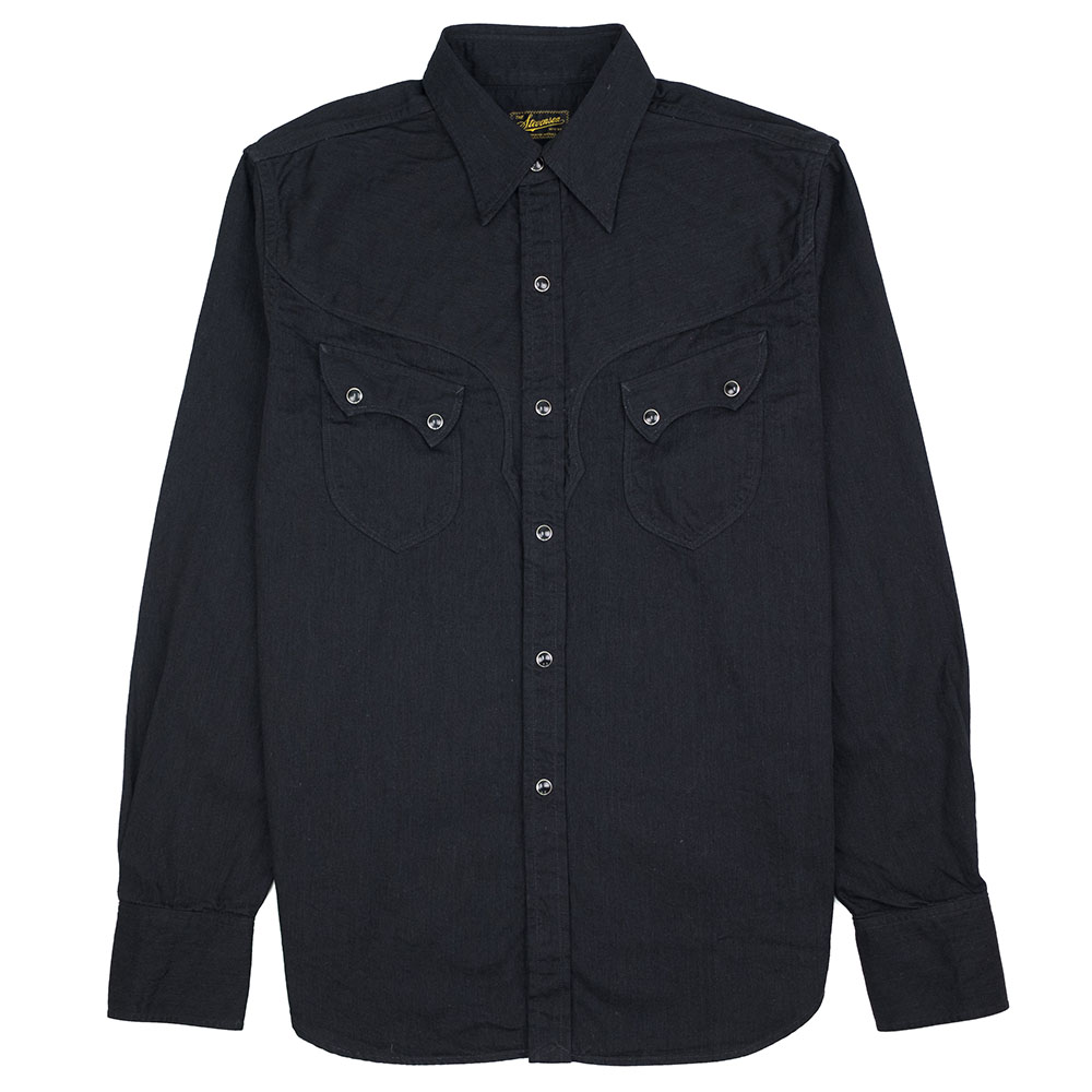 Stevenson Overall Co. Cody Shirt - Black
