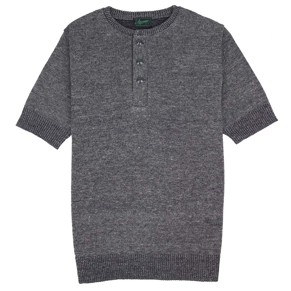 Knit Henley T-Shirt
