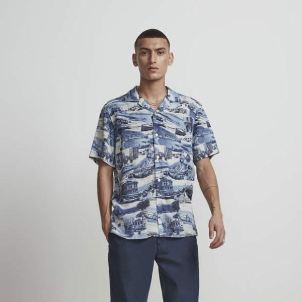 nn07 miyagi shirt blue print